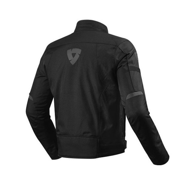 REV'IT JACKET LUCID BLACK - BACK