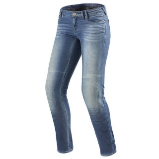 REV'IT WESTWOOD LADIES SF JEANS - Light Blue Used