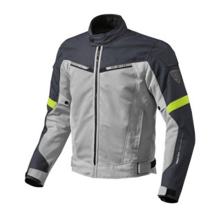 REV'IT JACKET AIRWAVE 2 - SILVER NEON YELLOW