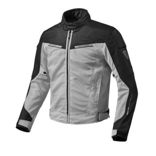 REV'IT JACKET AIRWAVE 2 - SILVER BLACK