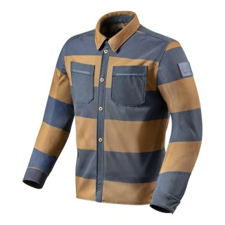 REV'IT TRACER AIR OVERSHIRT - Brown-blue