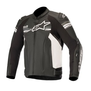 ALPINESTARS GP-R V2 TECH AIR - BLACK WHITE