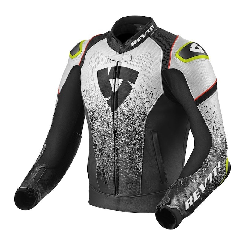 REV'IT QUANTUM JACKET - Black-White