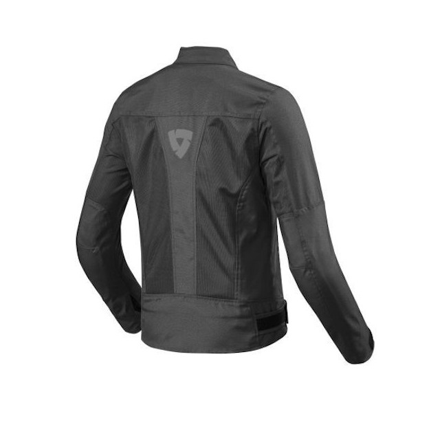 REV'IT JACKET ECLIPSE LADIES BLACK - BACK