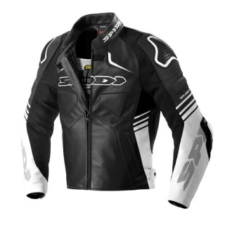 SPIDI BOLIDE LEATHER - BLACK WHITE