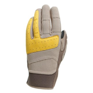 GUANTI DAINESE DJADO UNISEX GLOVES - Feather Gray-Morel-Old Gold