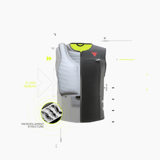 DAINESE SMART JACKET - MICROFILAMENTS