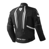 REV'IT JACKET RACEWAY NERO BIANCO - RETRO