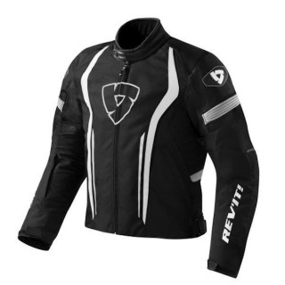 REV'IT JACKET RACEWAY - BLACK WHITE