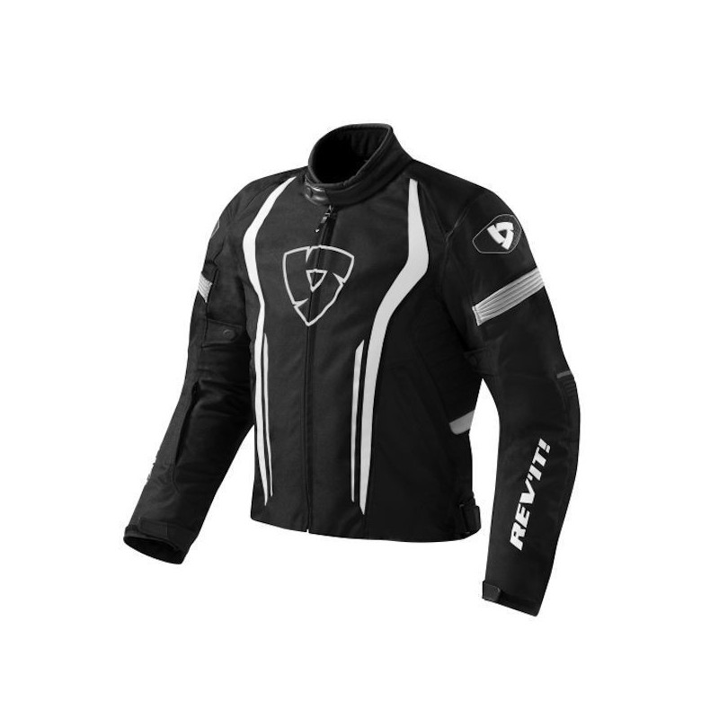 REV'IT JACKET RACEWAY - NERO BIANCO