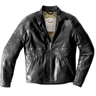 SPIDI GARAGE PERFORATED LEATHER JACKET