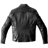 SPIDI GARAGE PERFORATED LEATHER JACKET - BACK