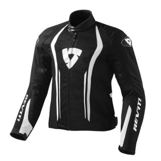 REV'IT JACKET AIRFORCE - BLACK WHITE