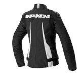 SPIDI SPORT WARRIOR TEX LADY JACKET BLACK - BACK