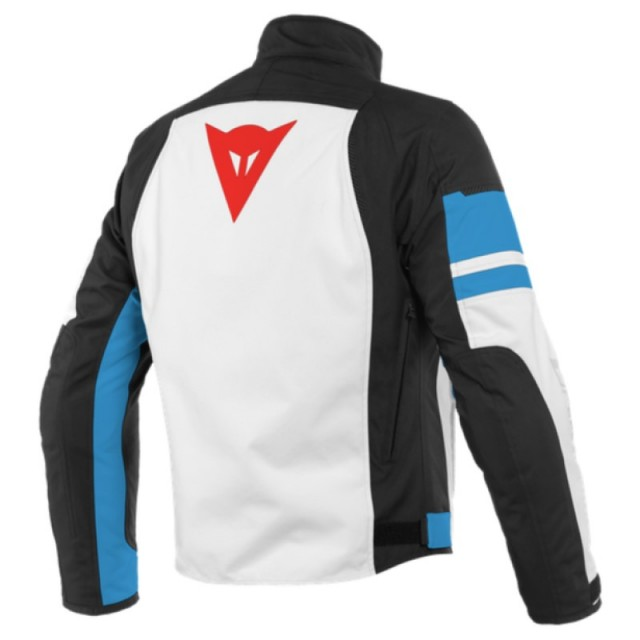 DAINESE SAETTA D-DRY JACKET LIGHT BLUE - BACK