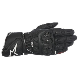 ALPINESTARS GP PLUS R LEATHER GLOVE - BLACK