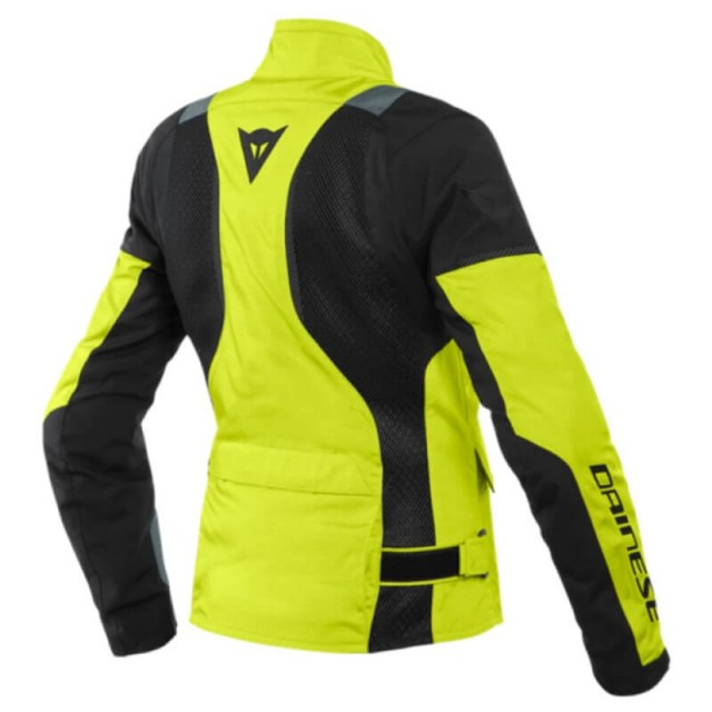 DAINESE AIR TOURER LADY TEX JACKET FLUO - BACK