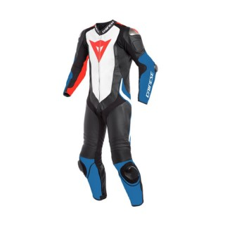 DAINESE LAGUNA SECA 4 1PC PERF SUIT - BLUE WHITE