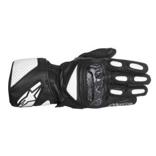 ALPINESTARS SP-2 NEW GLOVES - BLACK WHITE