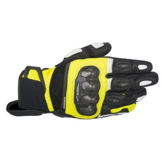 GUANTI ALPINESTARS SPX AIR CARBON GLOVE - NERO GIALLO FLUO