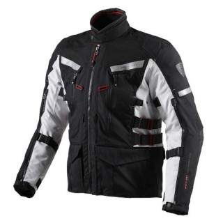 REV'IT JACKET SAND 2 - BLACK SILVER