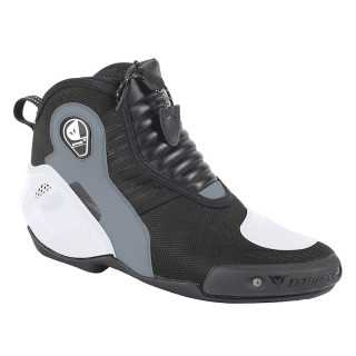SCARPE DAINESE DYNO D1 SHOES - BLACK WHITE ANTHRACITE