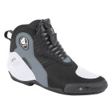 DAINESE DYNO D1 SHOES - BLACK WHITE ANTHRACITE