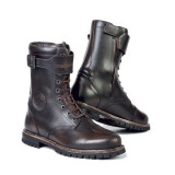 STYLMARTIN ROCKET BOOTS - DARK BROWN