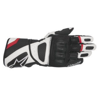 ALPINESTARS SP Z DRYSTAR GLOVE - BLACK WHITE RED