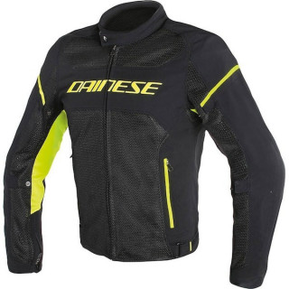 DAINESE AIR FRAME TEX - BLACK YELLOW FLUO