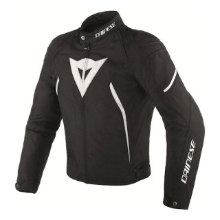 GIACCA DAINESE AVRO D2 TEX JACKET - BLACK WHITE