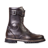 STYLMARTIN ROCKET BOOTS DARK BROWN - SIDE