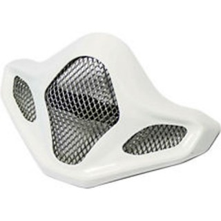AIR INTAKE CHAMBER FOR ARAI MX-V WHITE