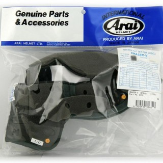 ARAI PADDING FOR CHASER-V SIZE XS / S 10MM