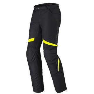 PANTALONI SPIDI X-TOUR PANTS H2OUT - NERO GIALLO FLUO