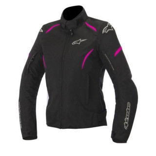 ALPINESTARS STELLA GUNNER WATERPROOF JACKET - BLACK FUCHSIA