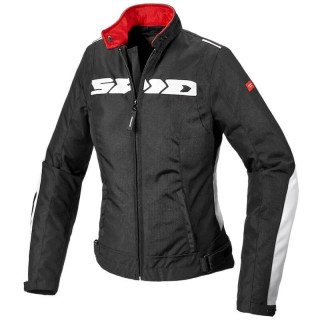 SPIDI SOLAR H2OUT  LADY JACKET - Black-White