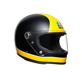 CASCO AGV X3000 SUPER AGV - MATT BLACK YELLOW