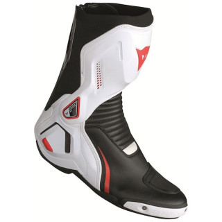 STIVALI DAINESE COURSE D1 OUT BOOTS - BLACK WHITE LAVA RED