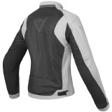 DAINESE AIR FLUX D1 LADY TEX JACKET BLACK HIGH RISE - BACK