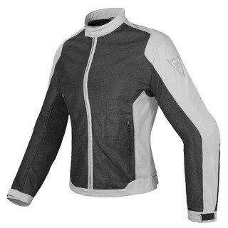 GIACCA DAINESE AIR FLUX D1 LADY TEX JACKET - BLACK HIGH RISE
