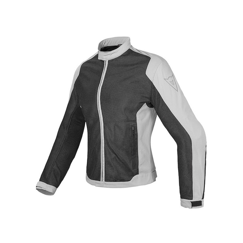 DAINESE AIR FLUX D1 LADY TEX JACKET - BLACK HIGH RISE