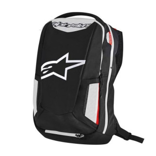 ALPINESTARS CITY HUNTER BACKPACK - BLACK WHITE RED