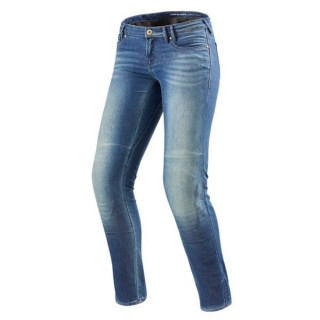 REV'IT JEANS WESTWOOD LADIES SF - LIGHT BLUE USED