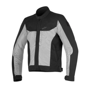 ALPINESTARS LUC AIR JACKET - BLACK LIGHT GRAY