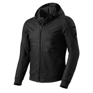 REV'IT HOODY STEALTH - BLACK