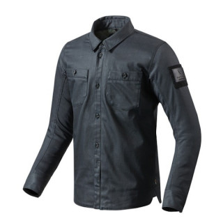 REV'IT OVERSHIRT TRACER - SOLID DARK BLUE