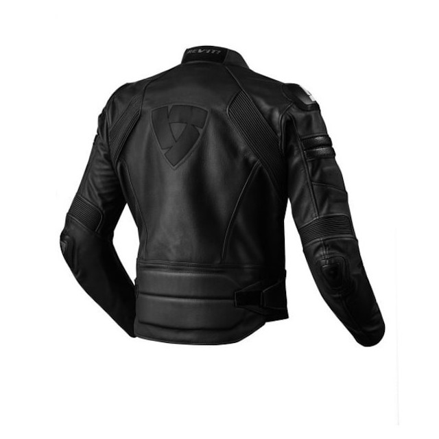 REV'IT JACKET AKIRA BLACK - BACK