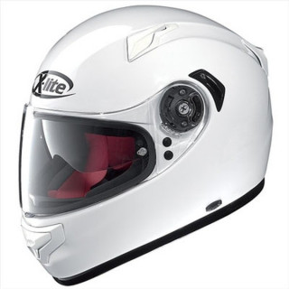 X-LITE X-661 START N-COM HELMET - METAL WHITE