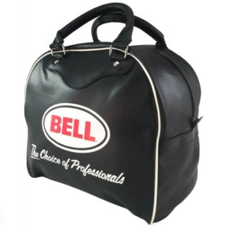BELL HELMET LEATHER BAG